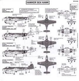 BD48082 Sea Hawk Fleet Air Arm & Indian Navy