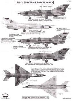BD72065 MiG-21 Fishbed Afrikanische Luftstreitkräfte Teil 3