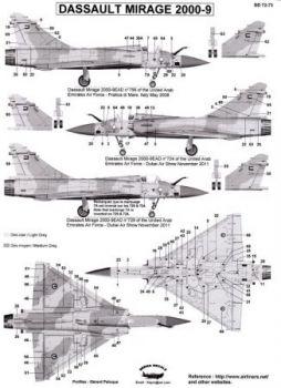 BD72073 Mirage 2000-9EAD Vereinigte Arabische Emirate