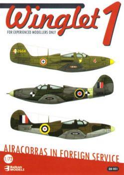 BM7201W P-39/400 Airacobra French Air Force, RAF & Royal Navy