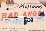 CAM24004 P-51D Mustang (Bad Angel), 4th FS(C)/3rd ACG