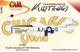 CAM24006 P-51D Mustang (Chicago's Own), 356th FS/354th FG