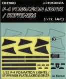 CDS3203 F-4 Phantom II Formation Lights and Stiffener Plates