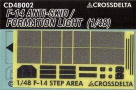 CDS4802 F-14 Tomcat Begehfelder und Formationslichter