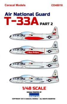 CM48018 T-33A Shooting Star Air National Guard #2