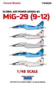 CD48026 MiG-29 Fulcrum-A & MiG-29UB Fulcrum-B internationale Luftstreitkräfte