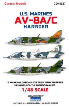 CD48027 AV-8A Harrier U.S. Marines