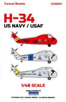 CD48031 Sikorsky H-34 U.S. Navy & U.S. Air Force