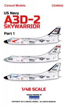 CD48042 A3D-2 Skywarrior U.S. Navy