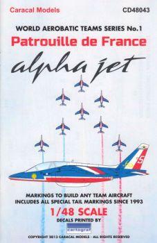 CD48043 Alpha Jet E Patrouille de France 1993-2013