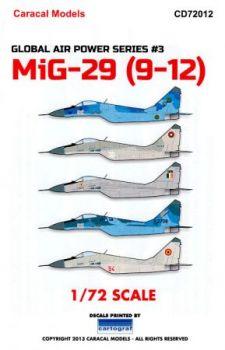 CD72012 MiG-29 Fulcrum-A & MiG-29UB Fulcrum-B internationale Luftstreitkräfte