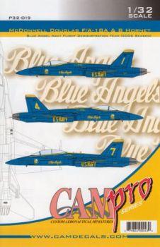 CPS3219 F/A-18A/B Hornet Blue Angels, U. S. Navy, Saison 2006