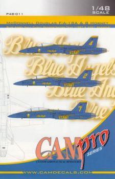 CPS4811 F/A-18A/B Hornet Blue Angels, U. S. Navy, Saison 1987/2001
