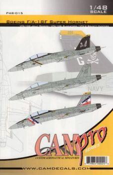 CPS4815 F/A-18F Super Hornet VFA-2, VFA-103 & VFA-106