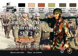 LCS05 Tarnfarben-Set Deutsche Uniformen WK II #2 6x 22 ml