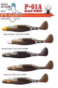 ECD72148 P-61A Black Widow 422nd NFS