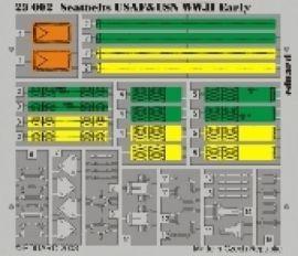 EE23002 Sitzgurte USAF & US Navy WK II color (frühe Version)