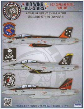 FBD32001 F/A-18E/F Super Hornet CAG Jets