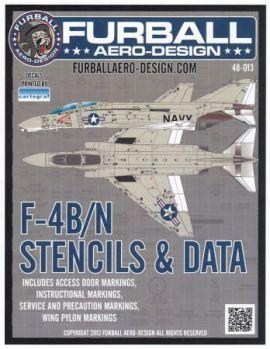 FBD48013 F-4B/N Phantom II Stencils & Data