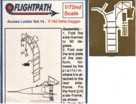FP72143 F-102 Delta Dagger Einstiegsleiter