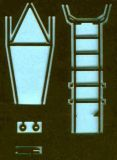 FP72159 MiG-21 Fishbed Access Ladder