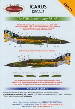 ID48023 RF-4E Phantom II Sonderanstrich griechische Luftwaffe