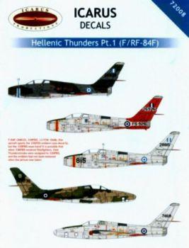 ID72008 F-84F Thunderstreak/RF-84F Thunderflash