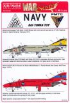 KW48105 F-4B Phantom II VF-302 & QF-4B Phantom II PMTC