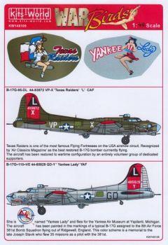 KW48109 B-17G Flying Fortress: Texas Raiders & Yankee Lady