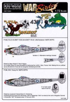 KW72082 P-38J Lightning