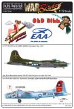 KW72090 B-17 Flying Fortress: Old Bill & Aluminium Overcast