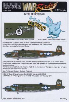 KW72099 B-25 Mitchell: Berlin Express & Dumbo
