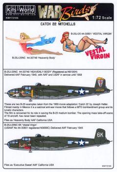 KW72105 B-25J Mitchell: Heavenly Body & Vestal Virgin