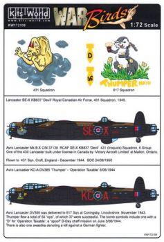 KW72108 Lancaster: Thumper MkIII & Devil