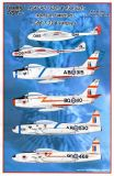 LE48086 F-86 Sabre, T-33 Silver Star & Vampire Canadian Air Force