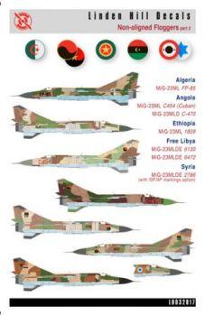 LH32017 MiG-23ML Flogger-G/ MiG-23MLD Flogger-K Blockfreie Staaten