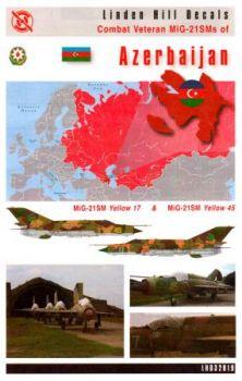 LH32019 MiG-21SM Fishbed-J Veteranen aus Aserbaidschan