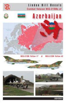 LH48031 MiG-21SM Fishbed-J Veteranen aus Aserbaidschan