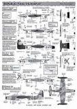 MA72032 F-84G Thunderjet & HSS-1 (UH-34)