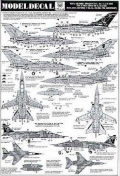 MDC098 Tornado/Jaguar/F-16