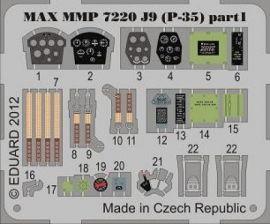 MMP7220 P-35A (J9 schwedische Luftwaffe) Detail Set (farbbedruckt)