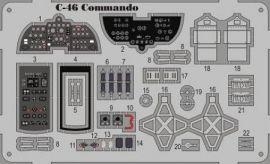 MMP7224 C-46 Commando Detail Set (farbbedruckt)