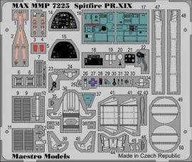 MMP7225 S31 Spitfire Mk.XIX Innendetails (farbbedruckt)