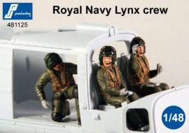 PJ481125 Royal Navy Lynx Helicopter Crew